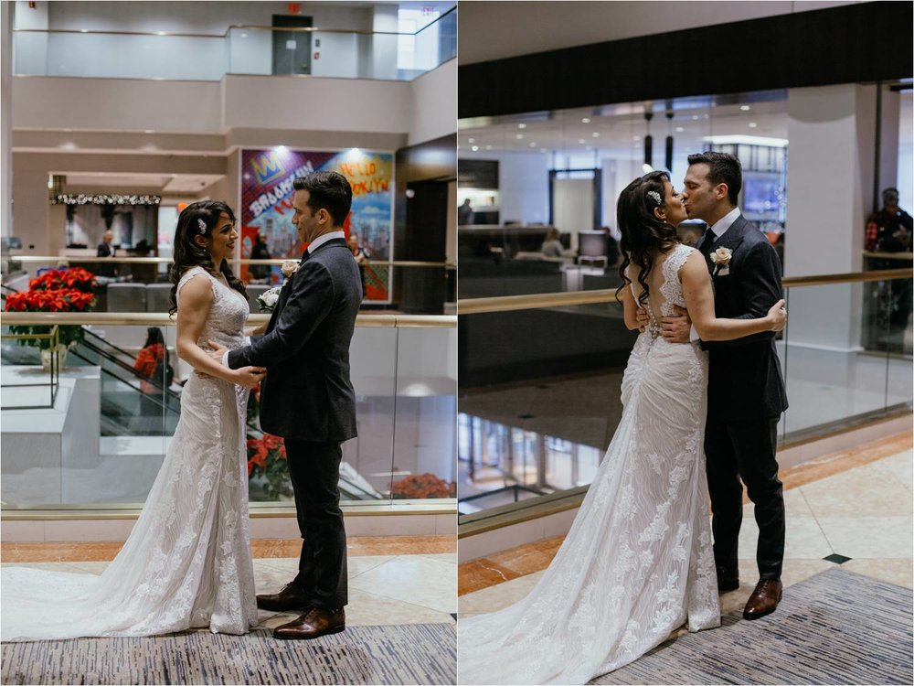 New York Marriott Brooklyn Bridge Wedding - Brooklyn Wedding - New York Wedding Photographer - NYC Elopement Photographer - New York Wedding Photos