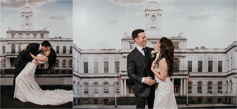 New York City Hall Wedding - NYC Elopement Photographer - City Hall Wedding Photographer - Elopement Photographer - New York Wedding Photos