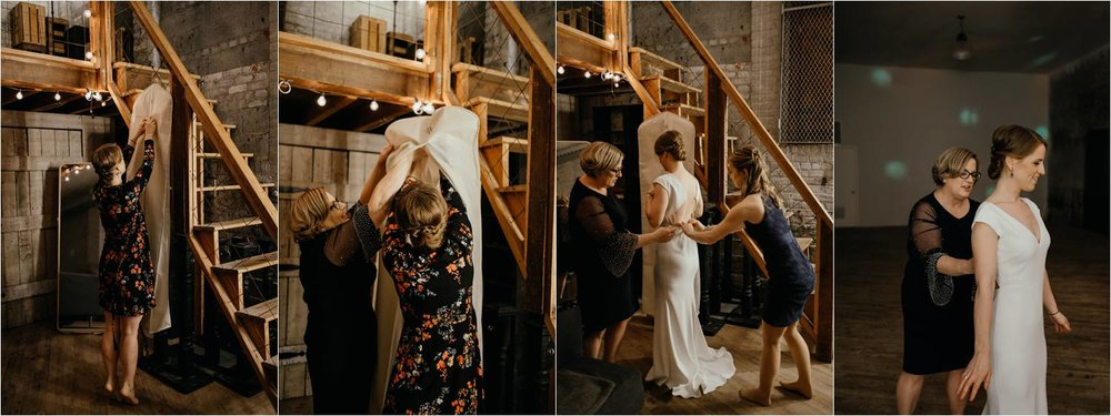 Brooklyn Warehouse Wedding - Brooklyn Wedding Photographer - Warehouse Studios Brooklyn Wedding - Jemima Richards - NYC Photographer