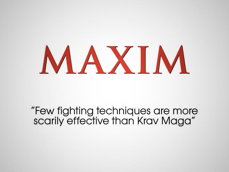 Krav Maga Worldwide en Maxim