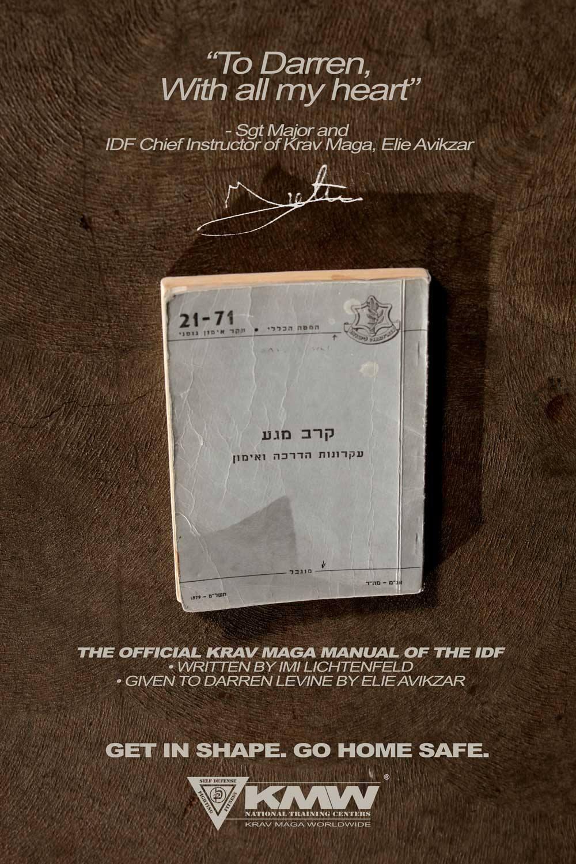 Manual Oficial de Krav Maga del IDF Fuerzas de Defensa de Israel)
