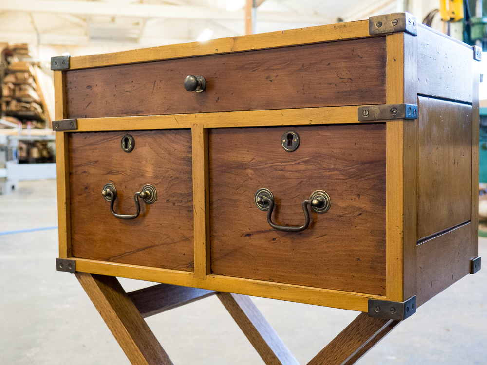 Kerryn's campaign chest - made new to look old.