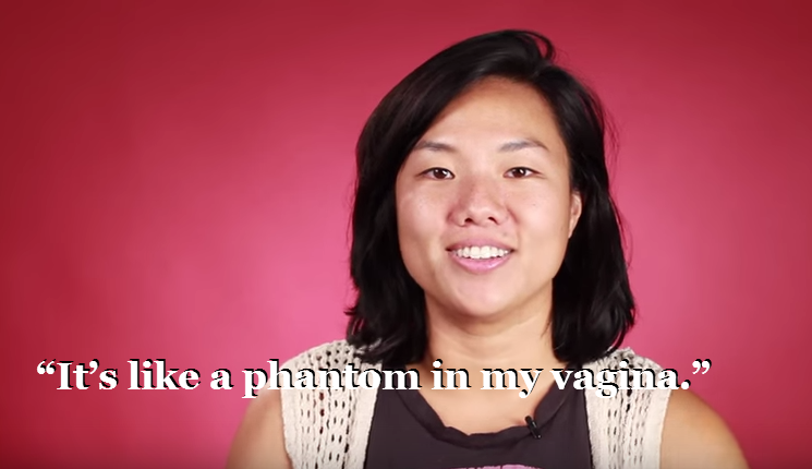 "Popular website BuzzFeed follows some first-time users of the DivaCup menstrual cup through their experiences. Some of them commented on how you can't feel the cup - ""it's like a phantom in my vagina"" being the memorable quote. Link here."