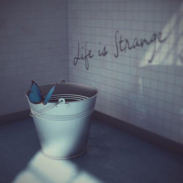 """Ini game bagus banget, ga kuattt!!, iya tau, saya telat maen, haha gak apa apa ya norak.  Tribute to game """"life is strange"""". #butterflyeffect #lifeisstrange #rendering3d #modeling3d"""
