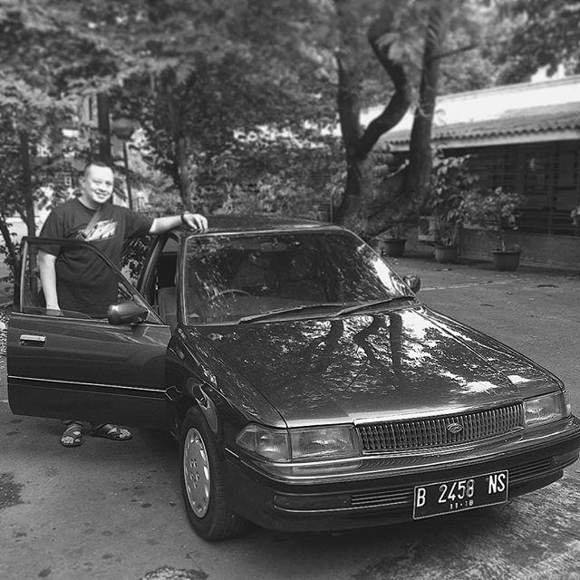 miki mulai sekarang punya partner baru, mas adjie yang sangat sangat cinta dg miki. #coronatwincam #st171 #2000cc #3sfe #vintageclassycar
