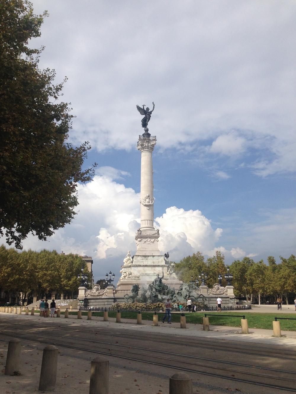 Landmarks Historic of Bordeaux
