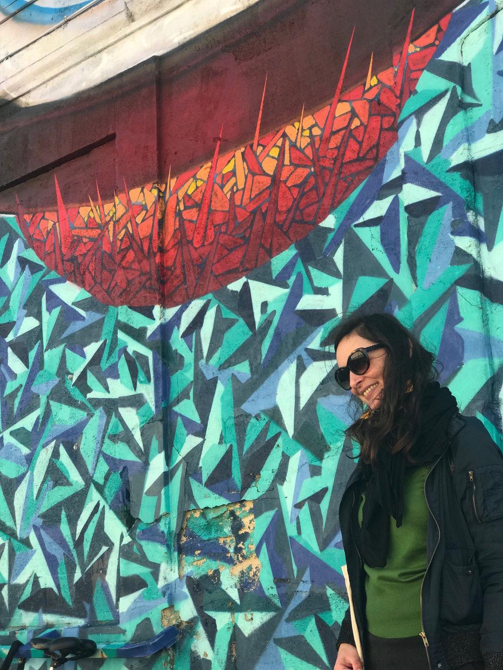 Bordeaux Walking Tours Celine guide art