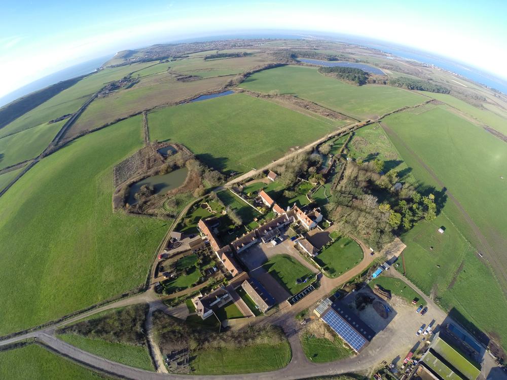 Tapnell Farm Aerial