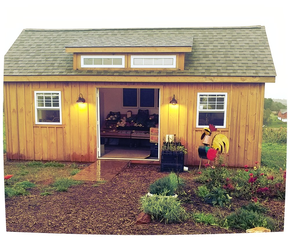 The Farm Stand - Open year round! Seasonal vegetables, grass-fed beef, pasture-raised chicken, eggs, & pork.CURRENT HOURSNov 24, 2018 - April, 2019Saturdays 10 am - 12 pm