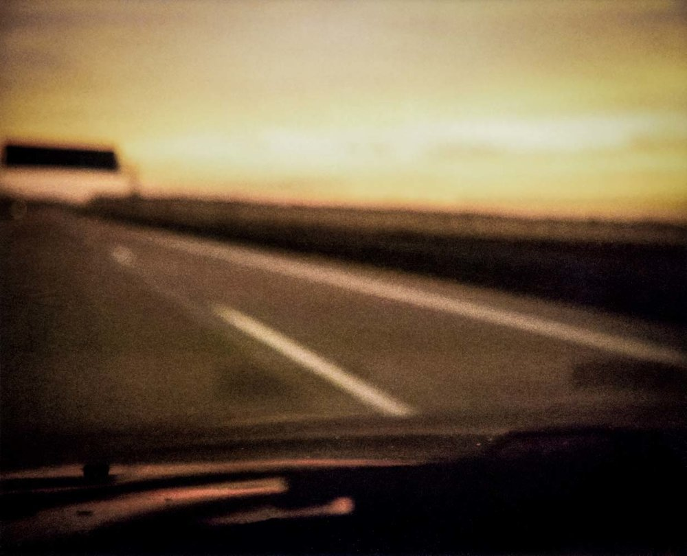 on the road I