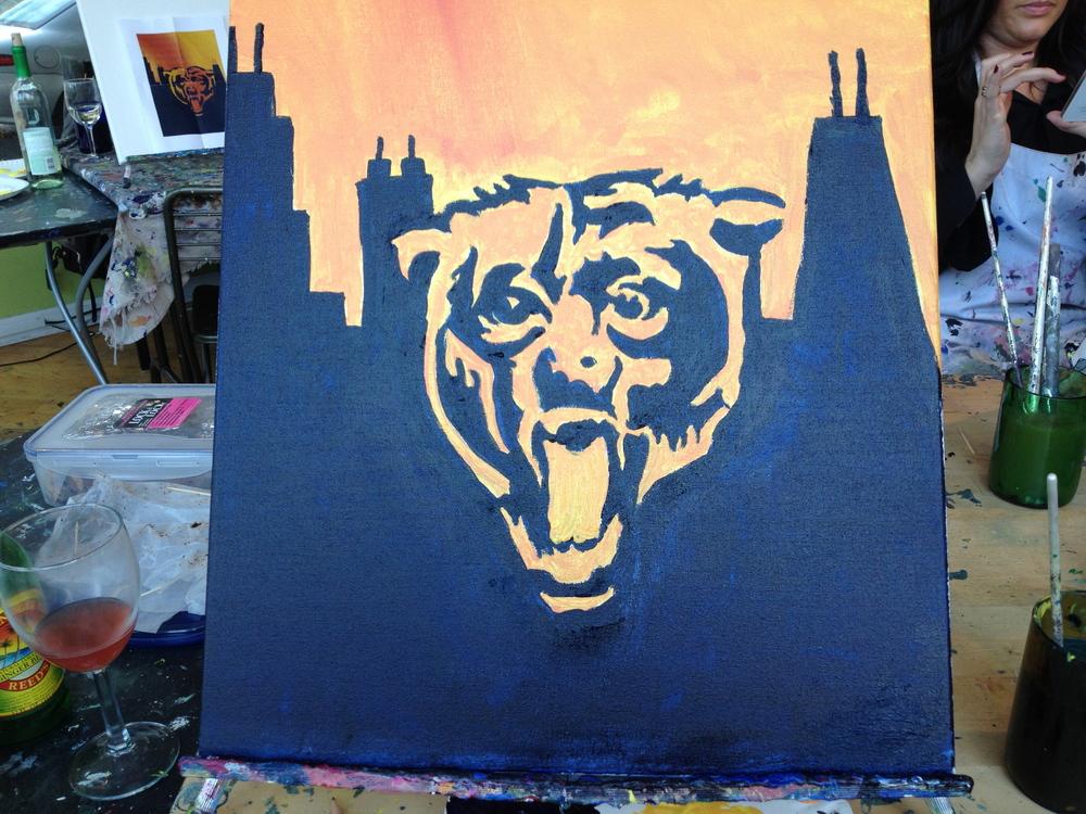 Bears Painting