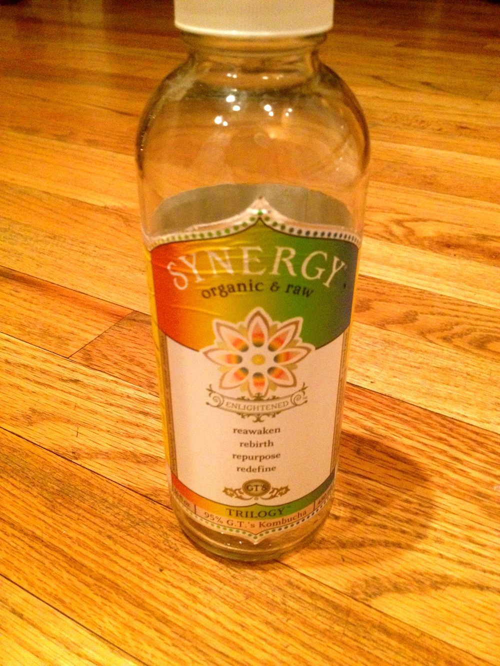 My go-to Kombucha brand is GT. I've tried every other brand out there, and nothing compares to the sweet/spicy/pungent fizz of the Synergy drinks.