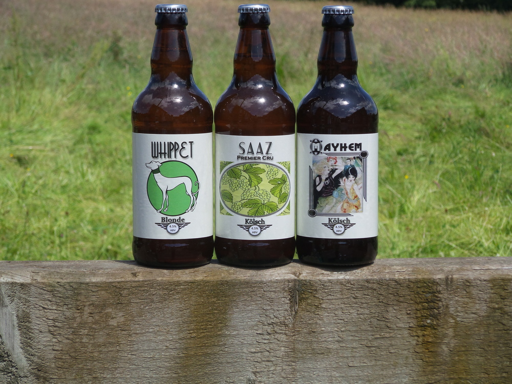 A selection of our fine beers in their  natural environment
