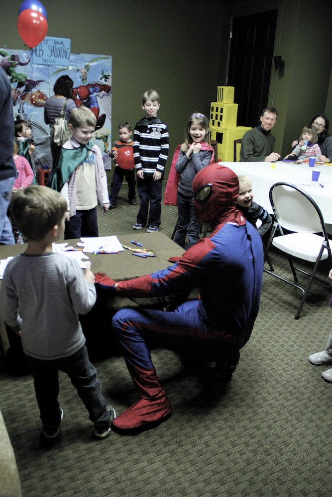 superhero party games