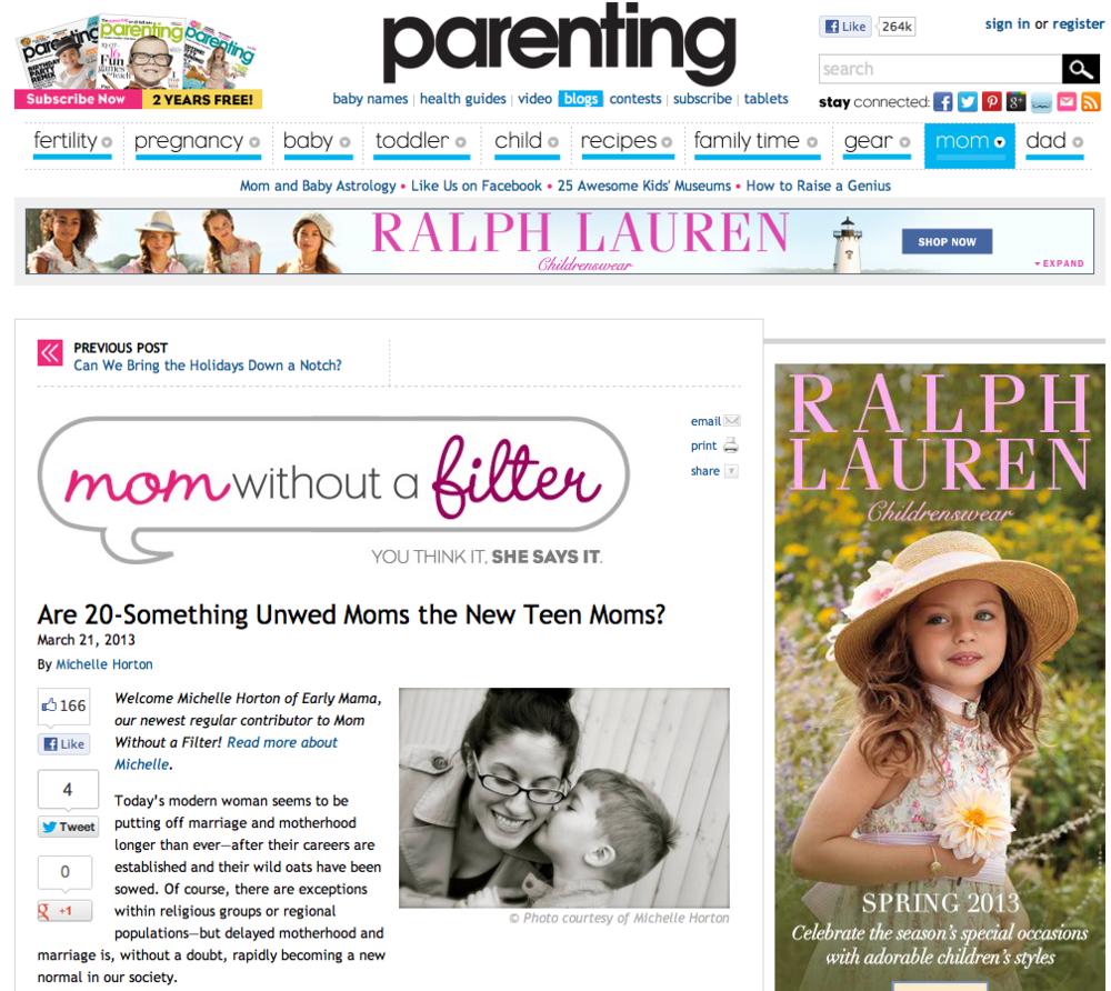 young moms  parenting.com