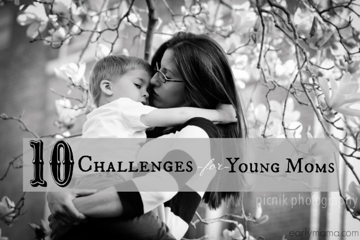 problems for young moms