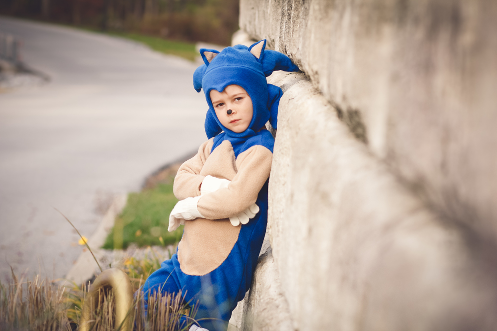 sonic the hedgehog halloween