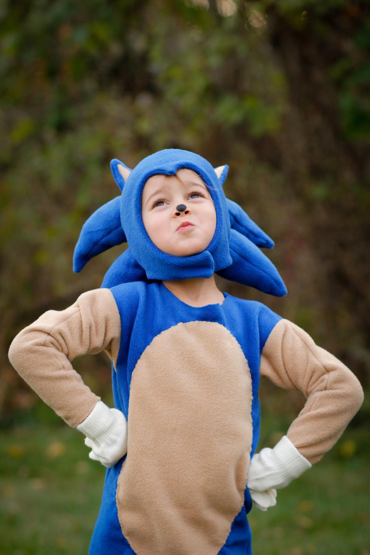 handmade costume: sonic!
