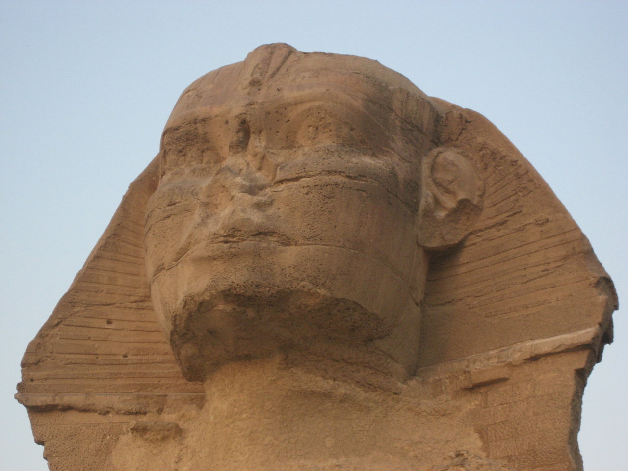 early morning at the sphinx… october 2008