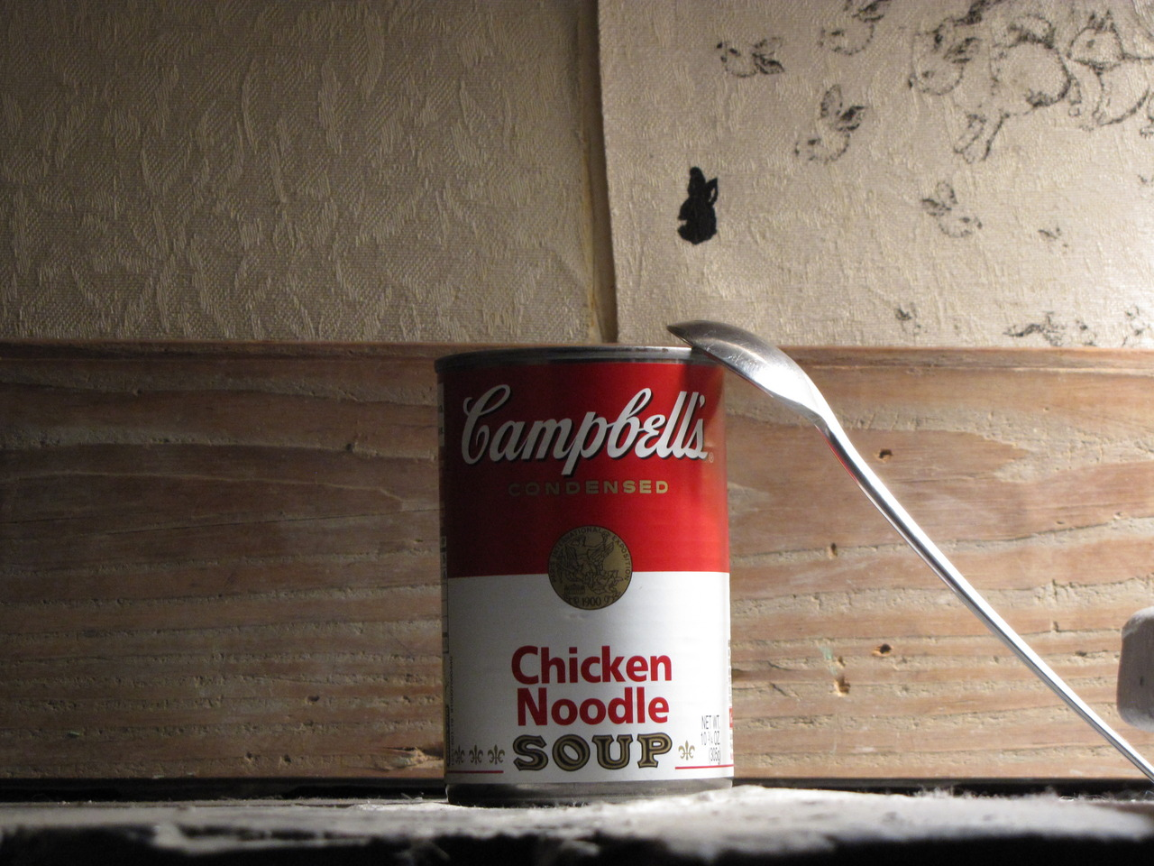 Soup can. To be consumed. 2010.