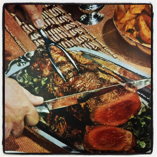 Meat. #collagehunting (Taken with  instagram )