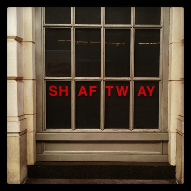 SH AF TW AY (Taken with instagram)
