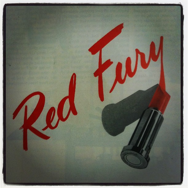 Red Fury. #collagehunting (Taken with instagram)
