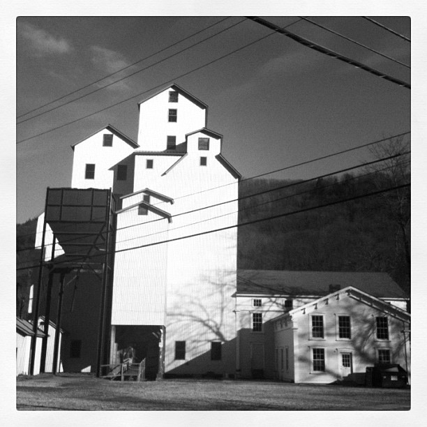 Studio. (Taken with Instagram at Maxon Mills)