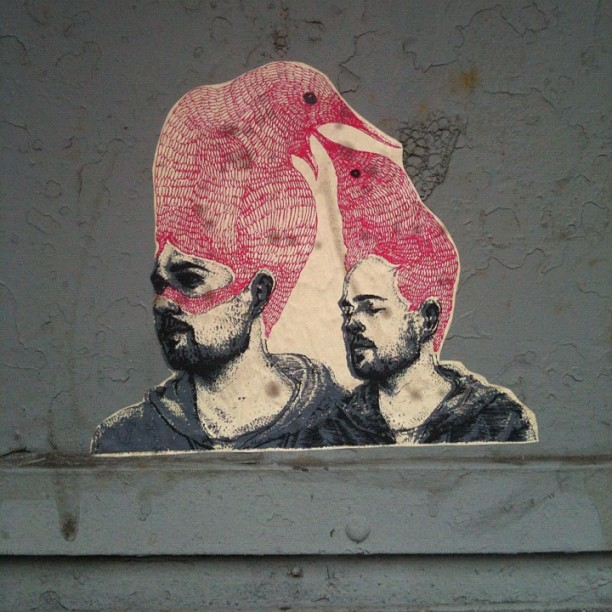 Harrison & Porter, Bushwick #streetart  (Taken with  instagram )