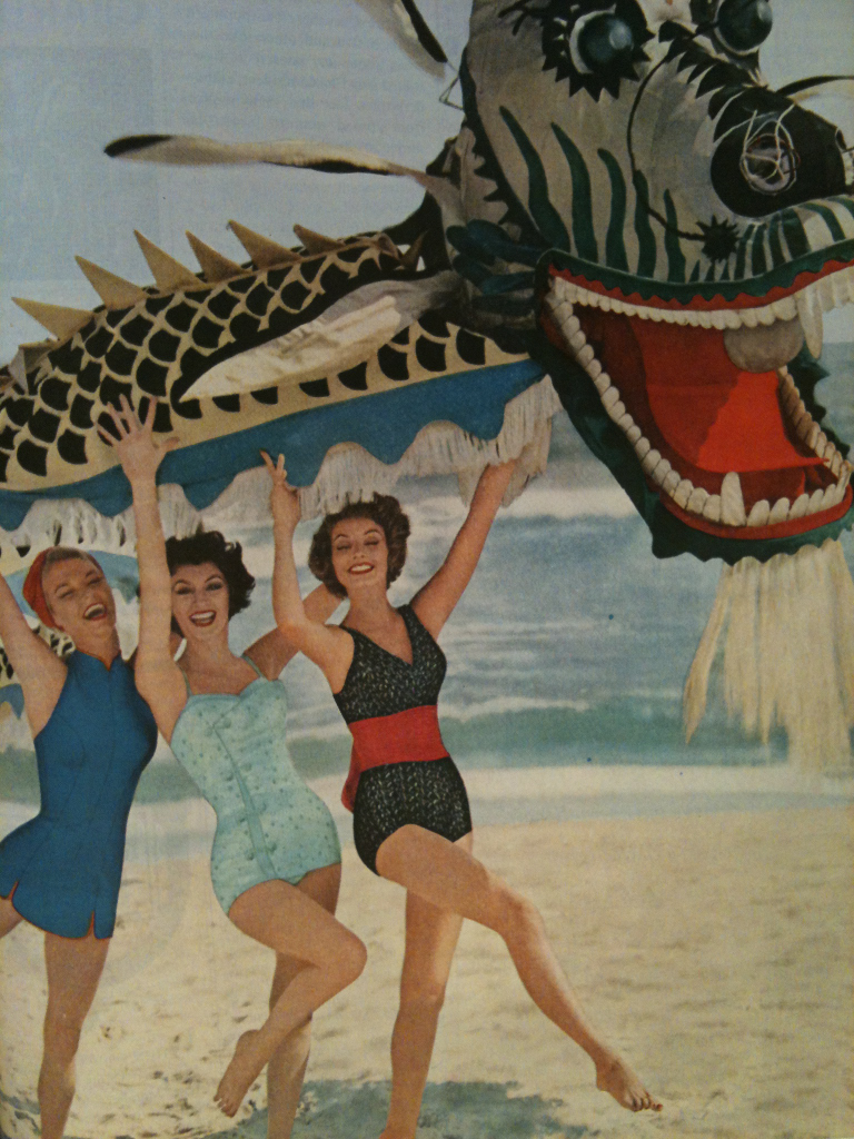 Year of the Dragon (or 1958) #collagehunting