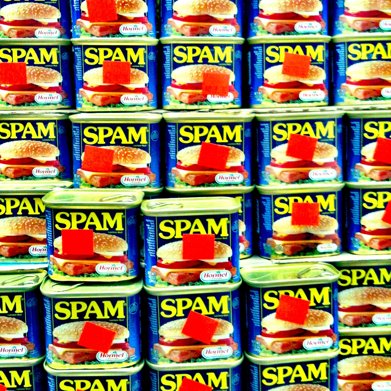 Formidable Wall of SPAM