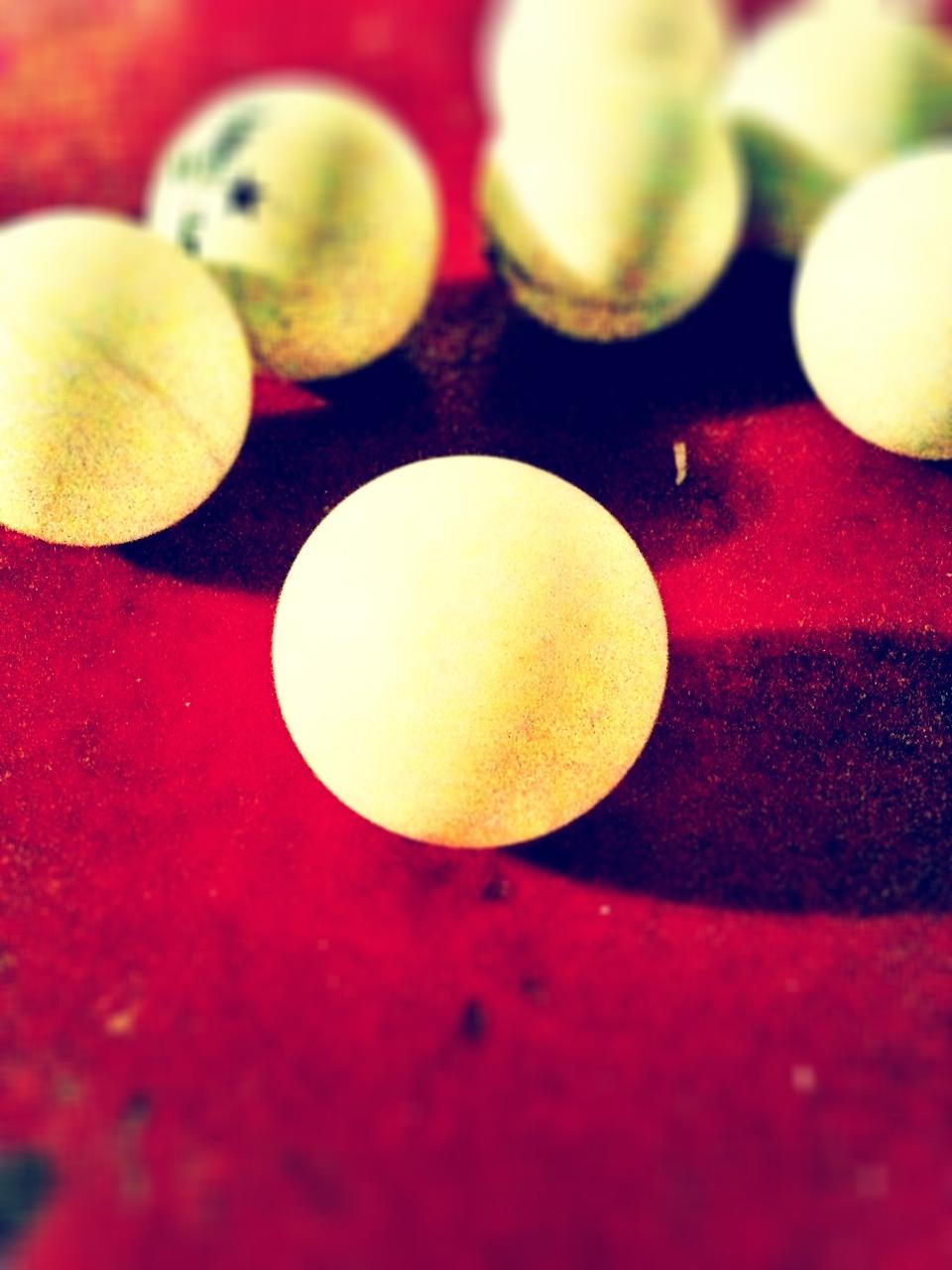 I found some balls.