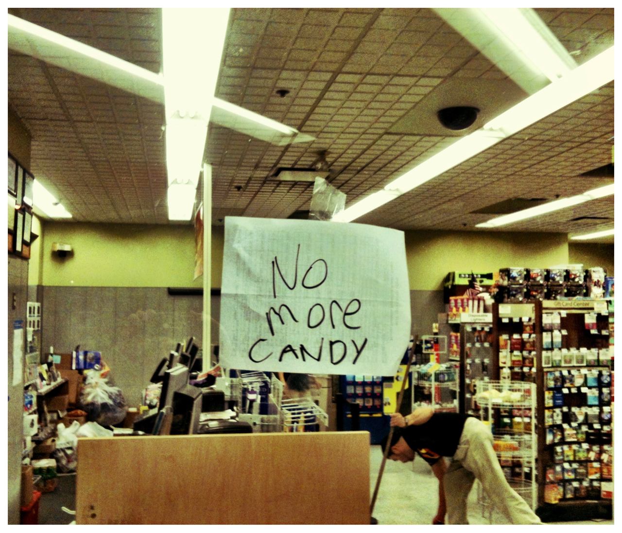 NO more CANDY