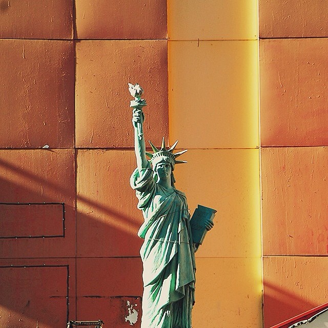 Lady Liberty (of the Tour Guides)