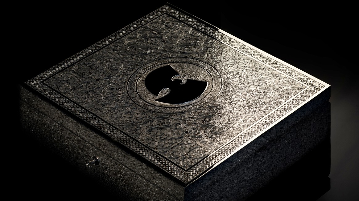 rhizomedotorg :      the one copy of the new wu-tang album      Maybe if we all pool our money together we can make an offer Wu can't refuse and then we release it back to the public for free hahahah system gamed wait—
