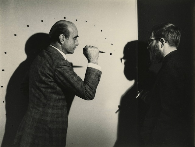 artnet: The Story of the Missing Fontana In the early noughties, art dealer Michele Casamonti was invited by a collector to take a look at his Lucio Fontana. What followed is a decade-long, extraordinary research project that led to the authentification of a major piece..
