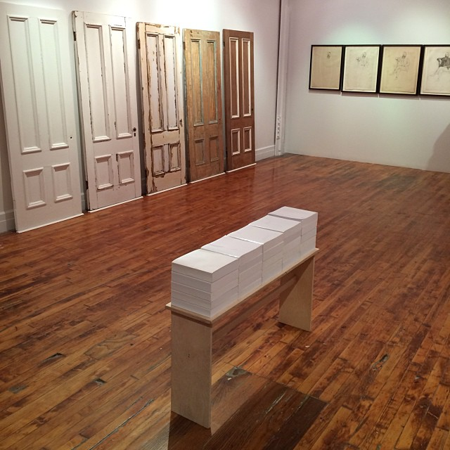 hragv: A view of the Andrew Witkin show at @TheodoreArt #beatnite (at Theodore:Art) States of door!