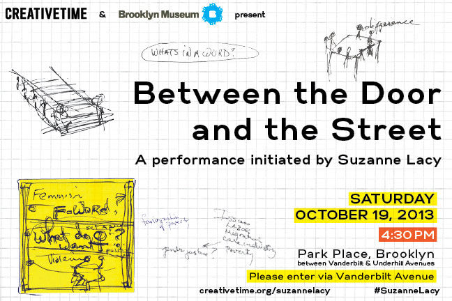 publicartfund: #StaffPick - tomorrow!  creativetime: This Saturday, hundreds of women will congregate on stoops in Park Place, Brooklyn to share their experiences, discuss the challenges and find possible solutions to some of the biggest issues confronting women today.   Join us for this groundbreaking performance! More information HERE.