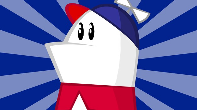 cootiebanini: party-wok: theavc: For a brief moment Homestar Runner ruled the Internet. And then cat GIFs happened. THE BLOOD IS ON OUR HANDS, TUMBLR! The first one I watched was Techno and I was hooked from there. S.  More different S. Auto-reblog.