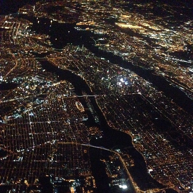 Lookin' good from above, NYC