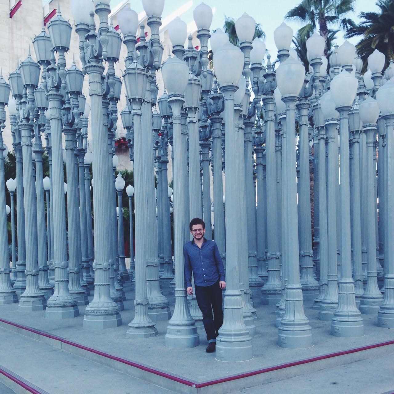 Obligatory Burden portrait at LACMA.