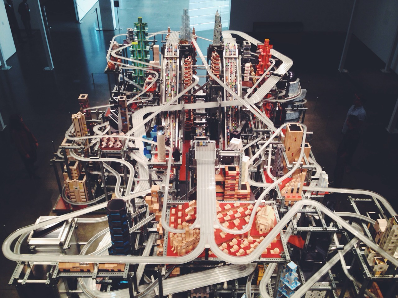 (Parked) Chris Burden - Metropolis II @ LACMA