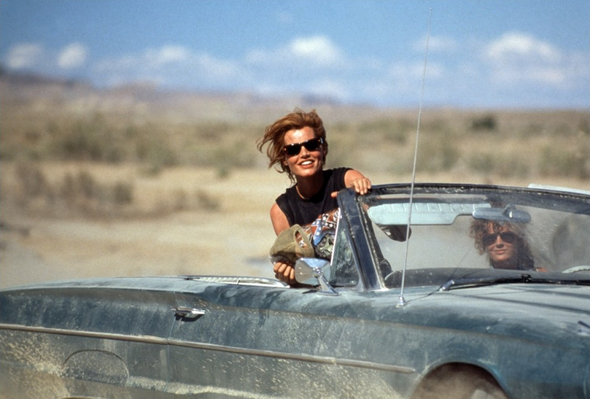 stn-to-stn :      THELMA AND LOUISE  Ridley Scott, 1991    » From  In Transit In Film , our series of motion captured in iconic film stills.      HAPPY 4TH OF JULY
