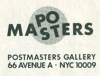postmastersgallery :           *From the Archives*            First up today:  Postmasters first logo   - designed by long time friend, artist  Filip Pagowski  (you might know his work…he is also responsible for the Comme des Garcons PLAY evil heart logo)  Isn't this precious?