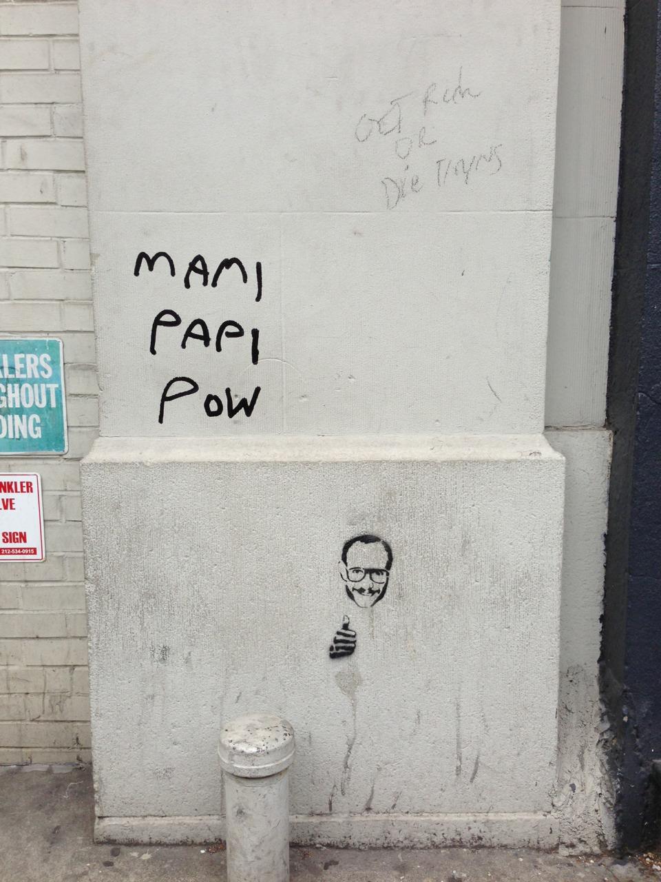 Terry Richardson graffiti? Really, NY?