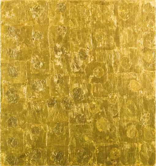 i12bent: Yves Klein: Monogold sans titre, 25 - 1961