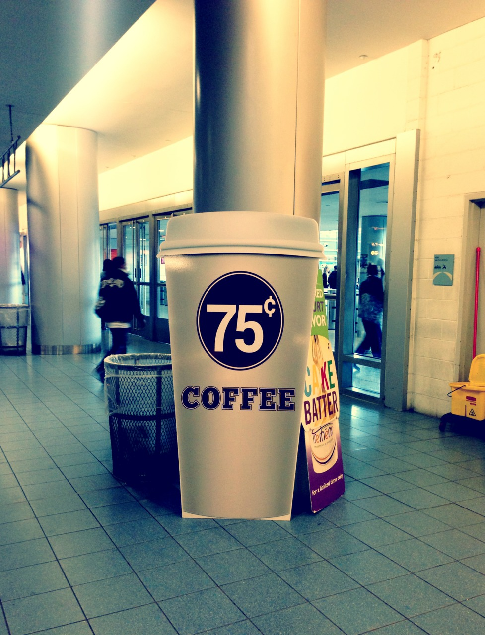 Here's to hoping the coffee is to scale…