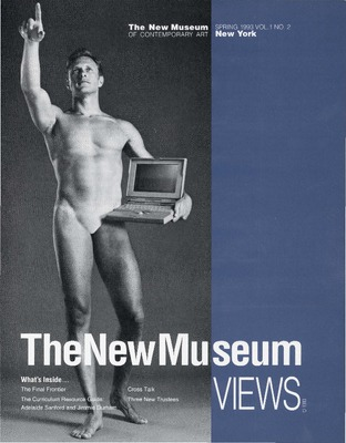 "newmuseum: In preparation for ""NYC 1993: Experimental Jet Set, Trash and No Star,"" which opens February 13th, look back at the New Museum's own history in 1993  on our Digital Archive where you can read the Spring 1993 issue of New Museum Views.  The cover features an image of Aziz and Cucher'sFAITH,  HONOR, and BEAUTY(1992).  The Newsletter examines work by artists on view at the New Museum in 1993, including Michael Joo, Julia Scher, Nari Ward and Andrea Zittel, artists who are also included in the upcoming ""NYC 1993: Experimental Jet Set, Trash and No Star."""