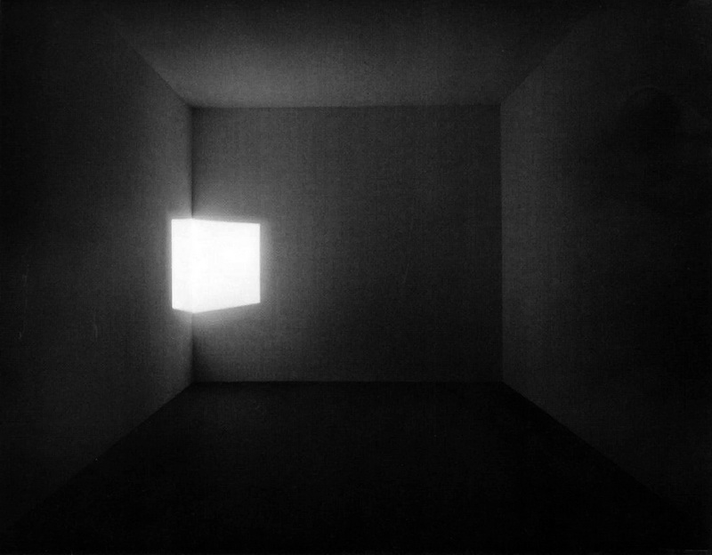 "nobodysdiary: conversationswiththelight: ""I am dealing with no object, I am dealing with no image, because I want to avoid associative, symbolic thought… I am dealing with no focus or particular place to look. With no object, no image and no focus, what are you looking at?""  (read) - James Turrell (image: Afrum Blue, 1967, site specific installation) Great quote"