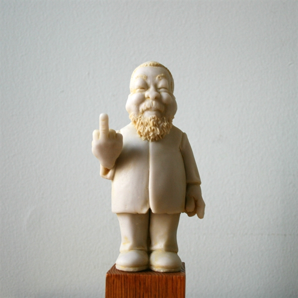 "manandjodicollect: Elliott Arkin Ai Weiwei Statue (""#1/1,000,000,000"") Edition of 100 2012 My fiancée and I started a tumblr for our burgeoning art collection…"